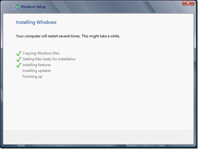 Installing Windows 3