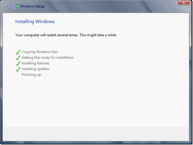 Installing Windows 4