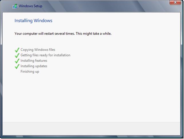 Installing Windows 4