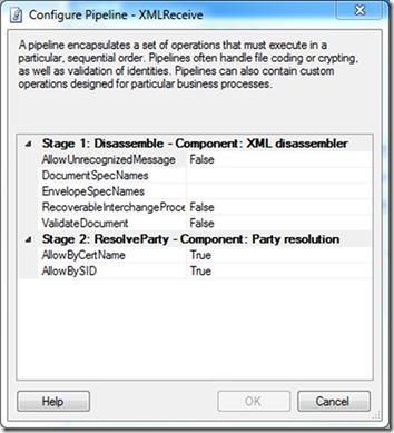 configurePipelineXMLReceive